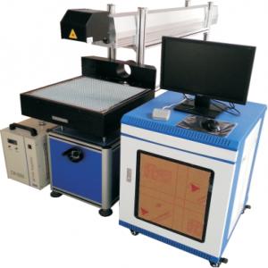 co2 glass tube marking /RF metal tube marking machine