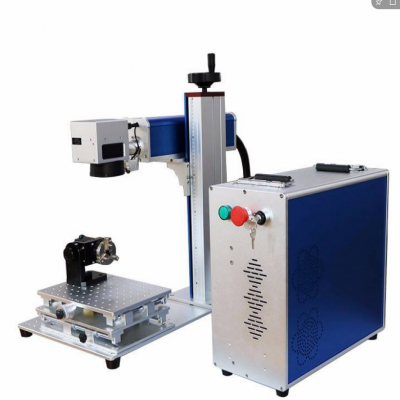 50W光纤激光桌面打标机